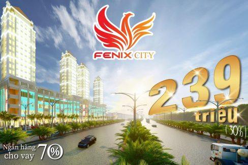 Fenix City 239 triệu nền