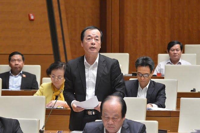 Bộ trưởng Xây dựng Phạm Hồng Hà. Ảnh: Quochoi.vn.
