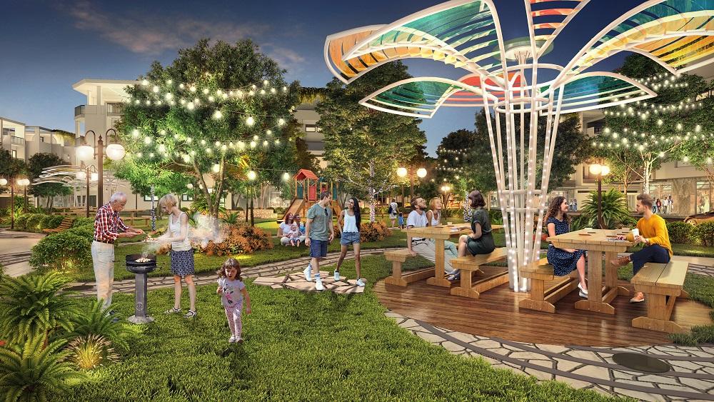 Công viên BBQ Garden – TNR Stars Chợ Mới
