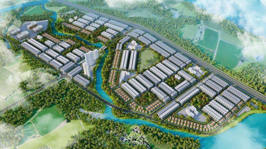 Dự án 4.000 tỷ khu đô thị mới Mái Dầm