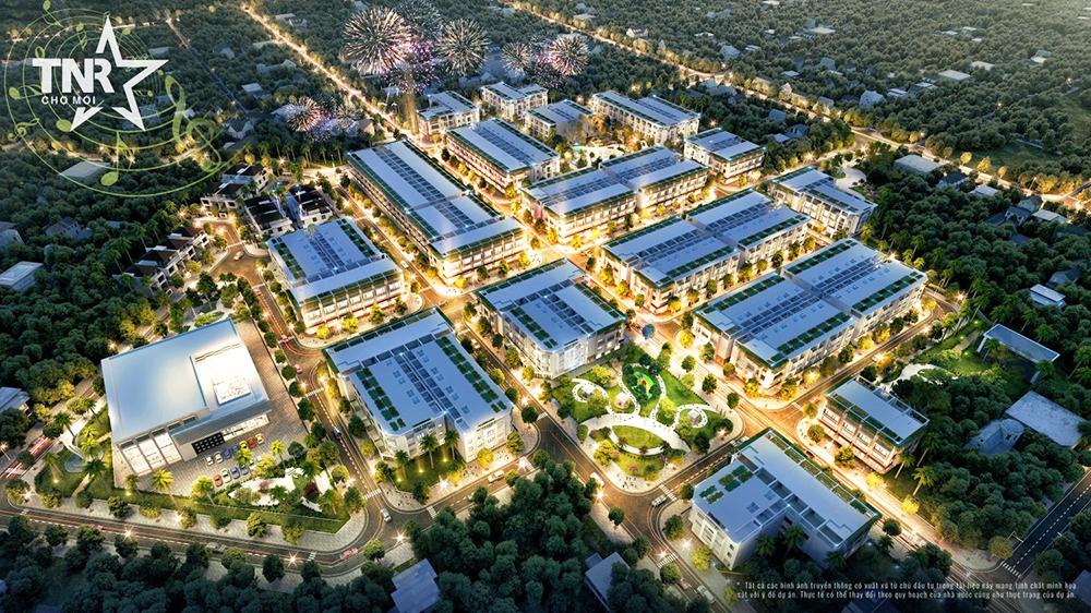 TNR Stars Chợ Mới là dự án tiên phong cho xu hướng phát triển đô thị tại địa phương. Chợ Mới An Giang