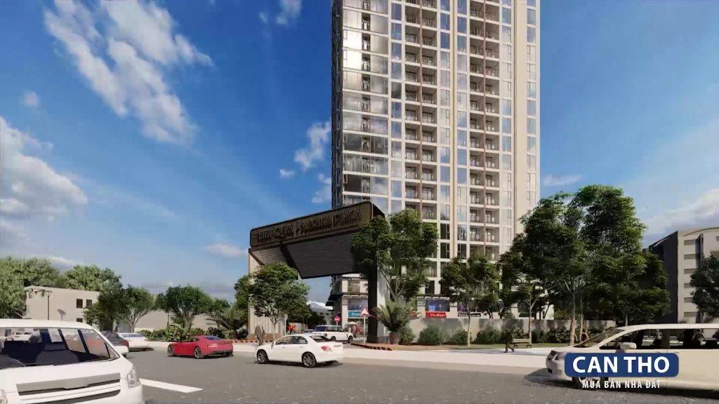 Phối cảnh chung cư cao cấp Thiên Quân - Marina Plaza