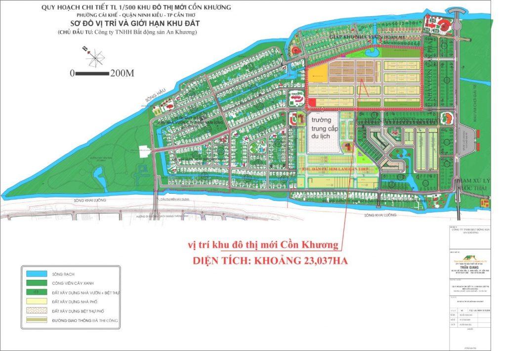 Quy hoạch Khu đô thị mới Cồn Khương Diamond City