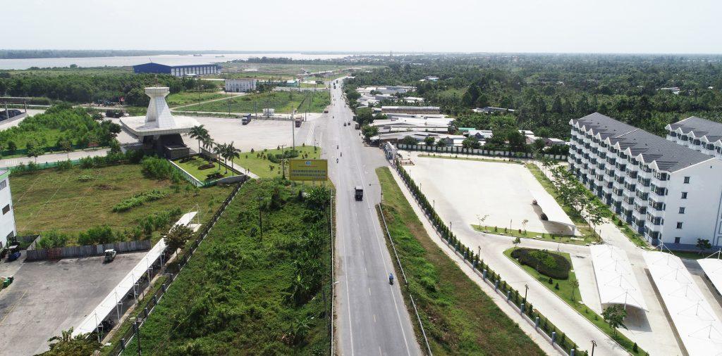 Thị trấn Mái Dầm: Khu vực phát triển công nghiệp năng động của tỉnh Hậu Giang - Ảnh 1.